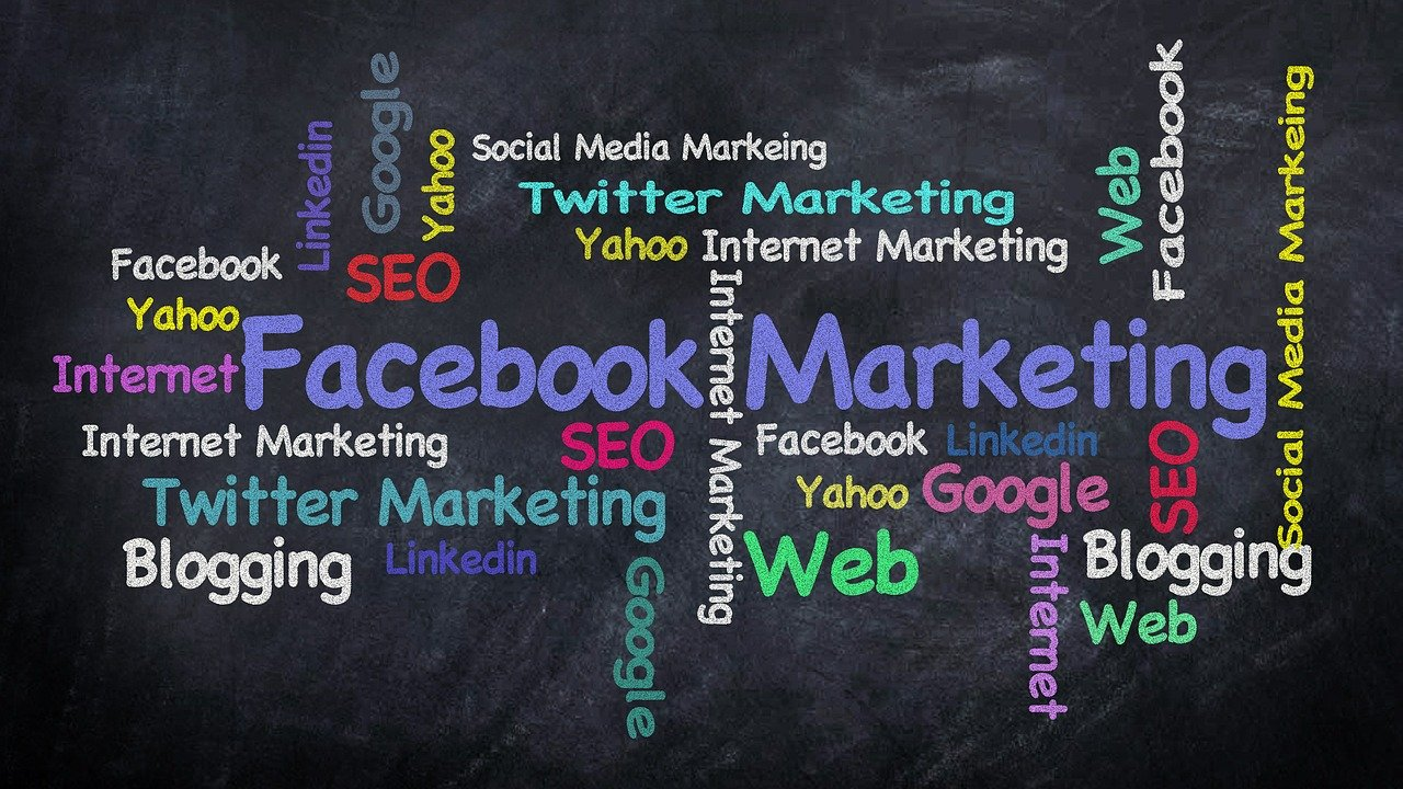 facebook, social media, chalk blackboard