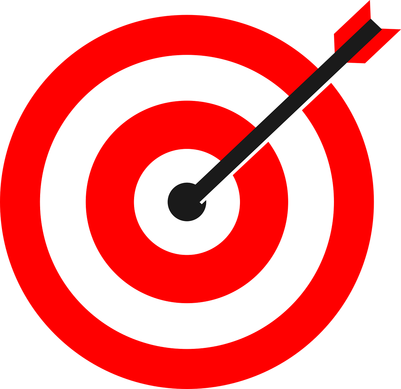 target, arrow, bulls eye